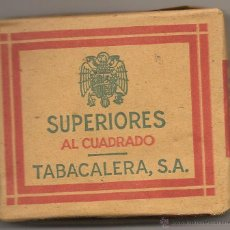 Paquetes de tabaco: PAQUETE DE TABACO DE LOS AÑOS 40 - PRECIO 0,75 PESETAS. Lote 40843072
