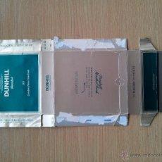 Paquetes de tabaco: DUNHILL PAQUETE DE TABACO VACIO DESPLEGADO. Lote 41698110