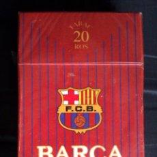 Paquetes de tabaco: PAQUETE DE TABACO DEL F.C BARCELONA EDICION LIMITADA MUY DIFICIL DE CONSEGUIR CERRADO SIN ABRIR. Lote 42173140