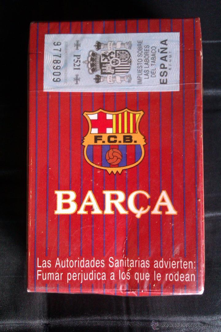 Paquetes de tabaco: PAQUETE DE TABACO DEL F.C BARCELONA EDICION LIMITADA MUY DIFICIL DE CONSEGUIR CERRADO SIN ABRIR - Foto 2 - 42173140