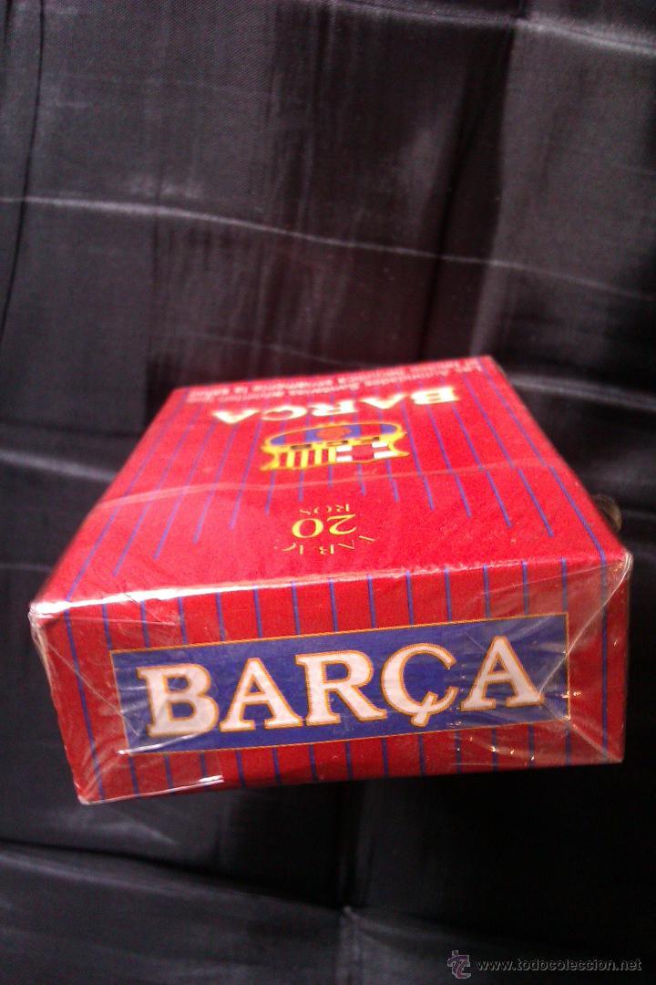 Paquetes de tabaco: PAQUETE DE TABACO DEL F.C BARCELONA EDICION LIMITADA MUY DIFICIL DE CONSEGUIR CERRADO SIN ABRIR - Foto 3 - 42173140