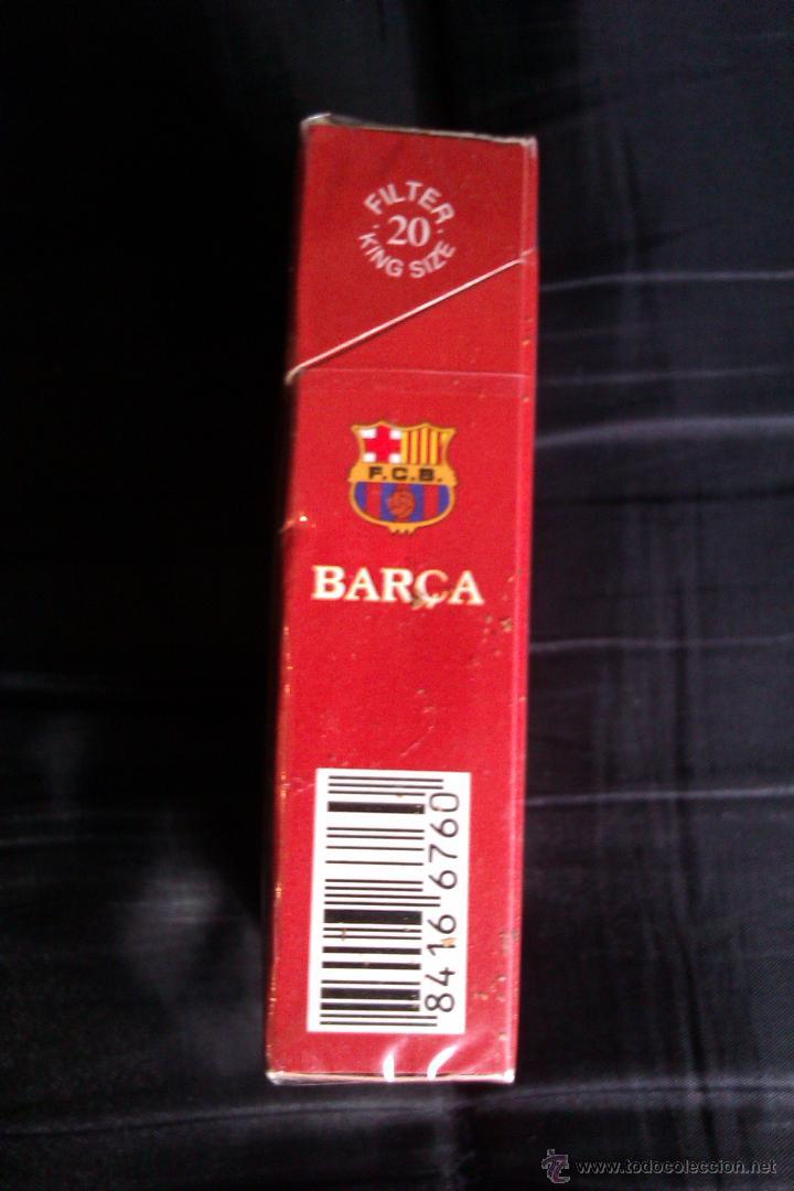 Paquetes de tabaco: PAQUETE DE TABACO DEL F.C BARCELONA EDICION LIMITADA MUY DIFICIL DE CONSEGUIR CERRADO SIN ABRIR - Foto 4 - 42173140