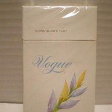 Paquetes de tabaco: PAQUETE DE TABACO VOGUE SIN ABRIR. Lote 42275094