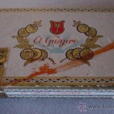 Paquetes de tabaco: CAJA EL GUAJIRO - 25 MEDIAS CORONAS. Lote 42335614