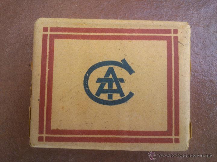 Paquetes de tabaco: ANTIGUO PAQUETE CON 20 CIGARRILLOS SUPERIORES AL CUADRADO - COMPAÑIA ARRENDATARIA DE TABACOS. - Foto 2 - 42378205