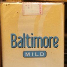 Paquetes de tabaco: CIGARRILLOS BALTIMORE DE ARGENTINA ENVASE DISCONTINUADO. Lote 42837231