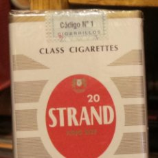 Paquetes de tabaco: ARGENTINA PAQUETE SOFT CIGARRILLO STRAND. Lote 42837265