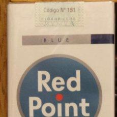 Paquetes de tabaco: CIGARRILLOS RED POINT DE ARGENTINA. Lote 42837322