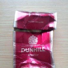 Paquetes de tabaco: ANTIGUO PAQUETE DE TABACO DUNHILL. VACIO. Lote 42979140