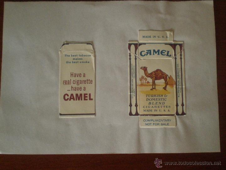 CAMEL TURKISH & DOMESTIC BLEND MADE IN USA PAQUETE DE 4 CIGARRILLOS . TABACO (Coleccionismo - Objetos para Fumar - Paquetes de tabaco)