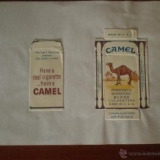 Paquetes de tabaco: CAMEL TURKISH & DOMESTIC BLEND MADE IN USA PAQUETE DE 4 CIGARRILLOS . TABACO. Lote 43188748