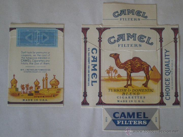 Paquetes de tabaco: CAMEL FILTERS TURKISH & DOMESTIC BLEND. MADE IN USA. PAQUETE 20 CIGARRILLOS PRECINTO TABACO REYNOLDS - Foto 2 - 43257443
