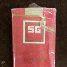 Paquetes de tabaco: ANTIGUO PAQUETE DE TABACO SG GIGANTE, CIGARRILLOS, SIN ABRIR.. Lote 148143264