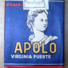 Paquetes de tabaco: 1 ANTIGUA ('60S-'70S) CAJETILLA CON CIGARRILLOS - NUNCA ABIERTA - 'APOLO' (VIRGINIA FUERTE). Lote 109129819