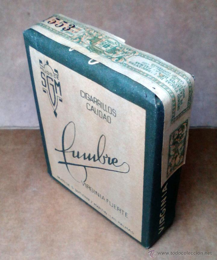 Paquetes de tabaco: 1 ANTIGUA ('60s-'70s) CAJETILLA CON CIGARRILLOS - NUNCA ABIERTA - 'CUMBRE' (VERDE) - Foto 2 - 109129930