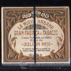 Paquetes de tabaco: PAQUETE DE TABACO. LA NUEVA HABANA. HIJOS DE JULIAN REIG. HEBRA. NUEVO. SIN ABRIR. CUBA. Lote 43859803