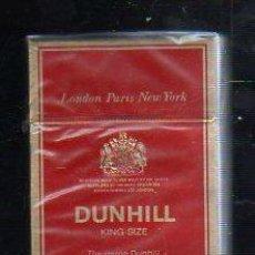 Paquetes de tabaco: PAQUETE DE TABACO. DUNHILL. KING SIZE. LONDRES. SIN ABRIR. NUEVO. Lote 43859835