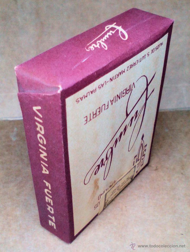 Paquetes de tabaco: 1 ANTIGUA ('60s-'70s) CAJETILLA CON CIGARRILLOS - NUNCA ABIERTA - 'CUMBRE' (ROJO) - Foto 3 - 109129947
