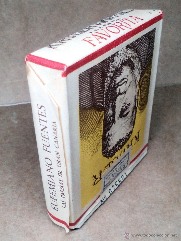 Paquetes de tabaco: 1 ANTIGUA ('60s-'70s) CAJETILLA CON CIGARRILLOS - NUNCA ABIERTA - 'KRÜGER' (AMARILLO) - Foto 3 - 109129996