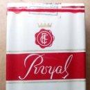 Paquetes de tabaco: 1 ANTIGUA ('60S-'70S) CAJETILLA CON CIGARRILLOS - NUNCA ABIERTA - 'ROYAL' (ROJO-FILTRO). Lote 52982434