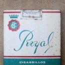 Paquetes de tabaco: 1 ANTIGUA ('60S-'70S) CAJETILLA CON CIGARRILLOS - NUNCA ABIERTA - 'ROYAL' (ESPECIALES). Lote 44118776
