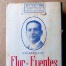 Paquetes de tabaco: 1 ANTIGUA ('60S-'70S) CAJETILLA CON CIGARRILLOS - NUNCA ABIERTA - 'FLOR DE FUENTES' (BLANCO). Lote 51559176