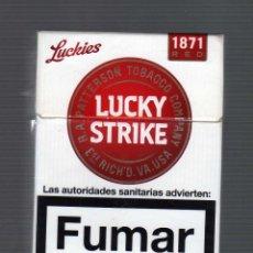 Paquetes de tabaco: CAJETILLA VACÍA DE LUCKY STRIKE ORIGINAL RED. Lote 44340219