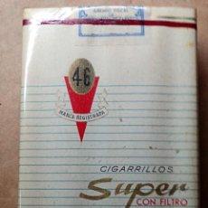 Paquetes de tabaco: 1 ANTIGUA ('60S-'70S) CAJETILLA CON CIGARRILLOS - NUNCA ABIERTA - '46' (SUPER CON FILTRO). Lote 101381924