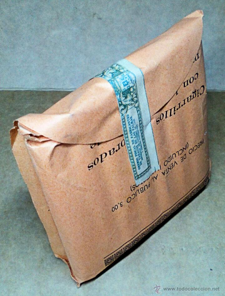 Paquetes de tabaco: 1 ANTIGUA ('60s) CAJETILLA CON CIGARRILLOS - NUNCA ABIERTA - 'LA REGIONAL' (NARANJA) - Foto 3 - 109129810