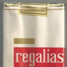 Paquetes de tabaco: PAQUETE TABACO *REGALÍAS DE GOYA* - LLENO Y PRECINTADO. Lote 44910323
