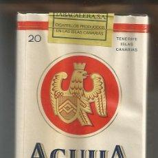 Paquetes de tabaco: PAQUETE TABACO *AGUILA* - LLENO Y PRECINTADO. Lote 44910675