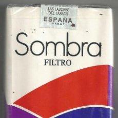 Paquetes de tabaco: PAQUETE TABACO *SOMBRA* - LLENO Y PRECINTADO. Lote 44910805
