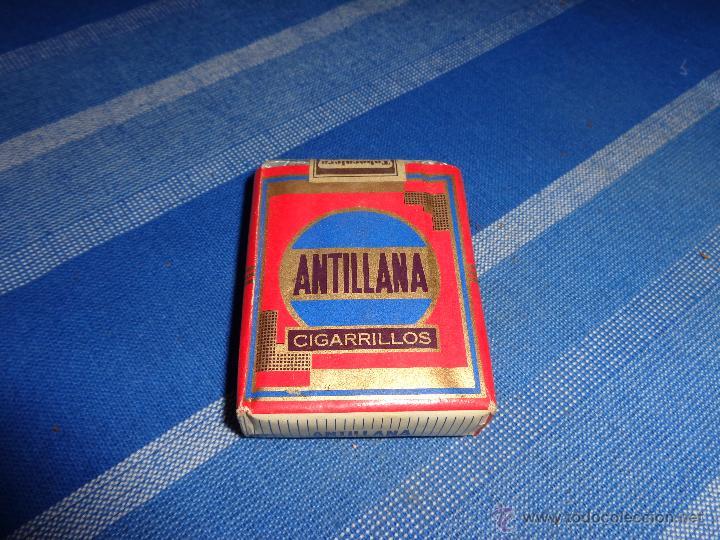 PAQUETE TABACO ANTILLANA, 111-1 (Coleccionismo - Objetos para Fumar - Paquetes de tabaco)