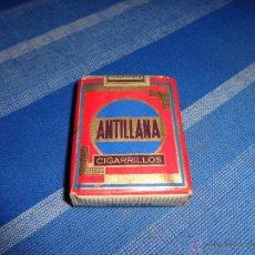 Paquetes de tabaco: PAQUETE TABACO ANTILLANA, 111-1. Lote 44913045