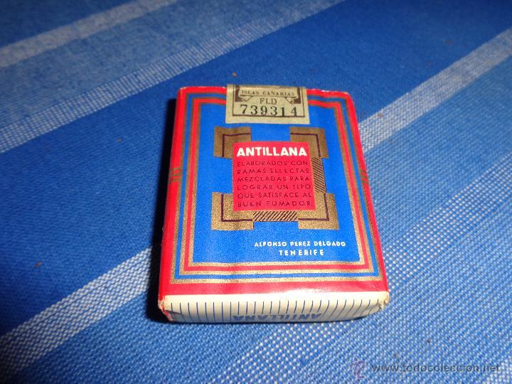 Paquetes de tabaco: PAQUETE TABACO ANTILLANA, 111-1 - Foto 3 - 44913045