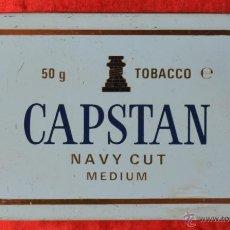 Paquetes de tabaco: CAPSTAN - NAVI CUT - CAJITA VACÍA DE TABACO PARA PIPA - PRINCIPIOS DE LOS 90. Lote 45006594