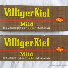 Paquetes de tabaco: 2 CAJAS DE PUROS CON BOQUILLA VILLIGER-KIEL MILD. Lote 45516170