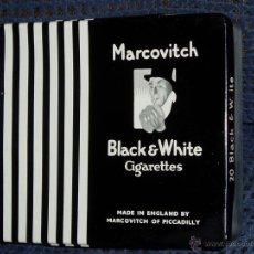 Paquetes de tabaco: CAJA CIGARRILLOS MARCOVITCH & CO.. Lote 47246195