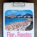Paquetes de tabaco: 1 ANTIGUA ('60S-'70S) CAJETILLA CON CIGARRILLOS - NUNCA ABIERTA - 'FLOR DE FUENTES'(ESP.BLANC.FILT.). Lote 61976163
