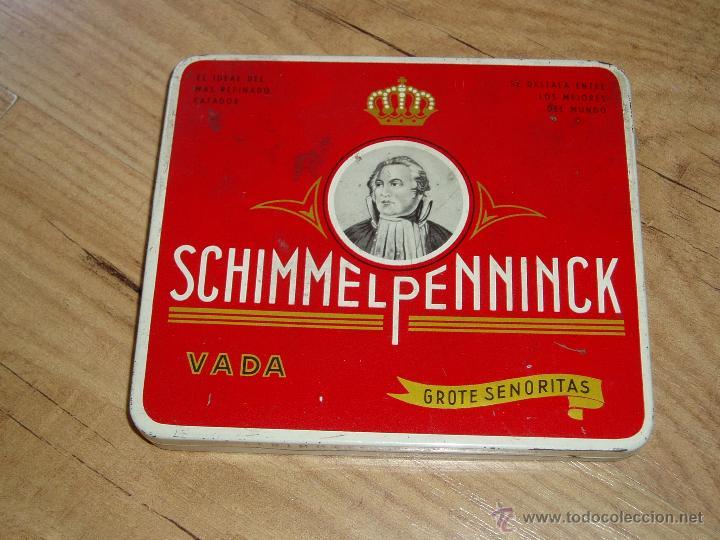 CAJA SCHIMMELPENNINCK (Coleccionismo - Objetos para Fumar - Paquetes de tabaco)