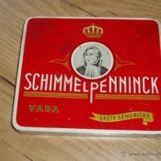 Paquetes de tabaco: CAJA SCHIMMELPENNINCK . Lote 47319134