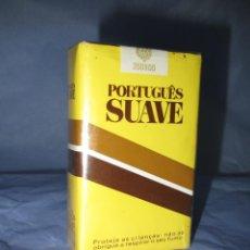 Paquetes de tabaco: ANTIGUO PAQUETE DE TABACO CIGARRILLOS PORTUGUES SUAVE. Lote 212756765