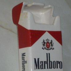 Paquetes de tabaco: CURIOSO CENICERO PUBLICITARIO MARLBORO PORCELANA ESMALTADA.AÑOS 70.. Lote 47534131