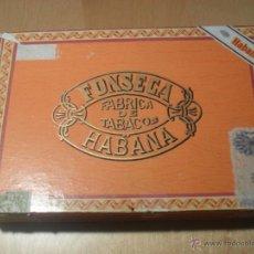 Paquetes de tabaco: CAJA VACIA DE TABACO FONSECA HABANA. Lote 48060880