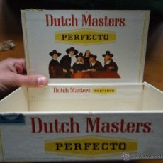 Paquetes de tabaco: TABACO DUTCH MASTERS PERFECTO, CAJA CARTON DURO PARA 50 CIGARRILLOS FINOS, . Lote 57644059