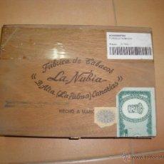 Paquetes de tabaco: PUROS LA NUBIA CAJA SIN ABRIR. Lote 48630641