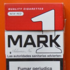 MARK ADAMS No 1 - NEW RED - CAJETILLA DE TABACO VACÍA