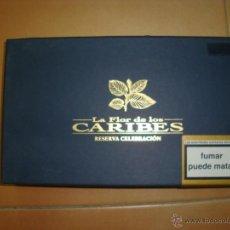 Paquetes de tabaco: CAJA DE PUROS CARIBES. Lote 48838856