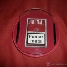Paquetes de tabaco: EXPOSITOR TABACO PALL MALL CON LUZ. Lote 48948824