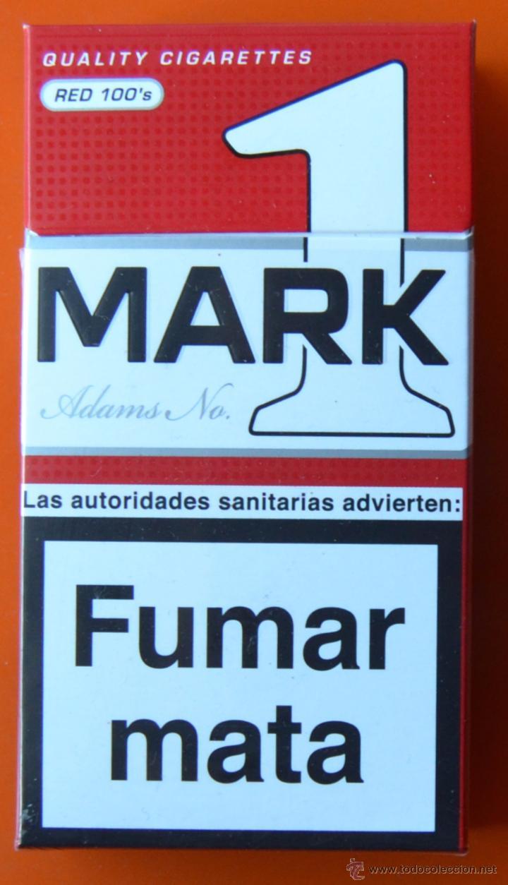 MARK ADAMS NO 1 - RED 100'S - CAJETILLA DE TABACO VACÍA (Coleccionismo - Objetos para Fumar - Paquetes de tabaco)